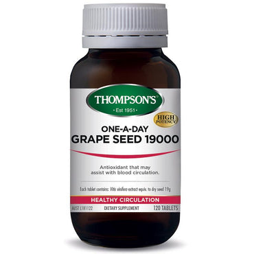 Thompson's One-A-Day Grape Seed 19000mg 120 Tablets