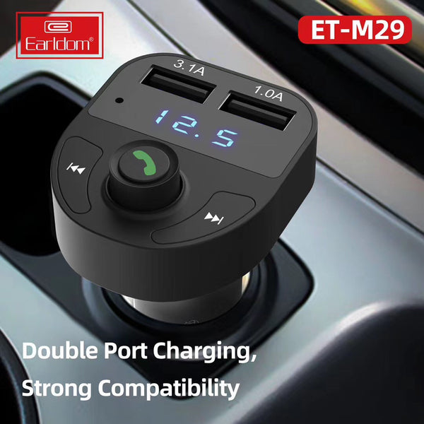 Bluetooth Car Charger M29