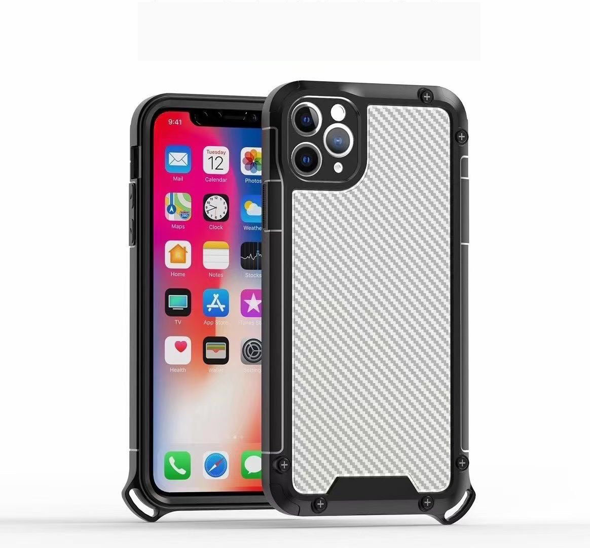 Carbon Fibre Shock Proof for iPhone