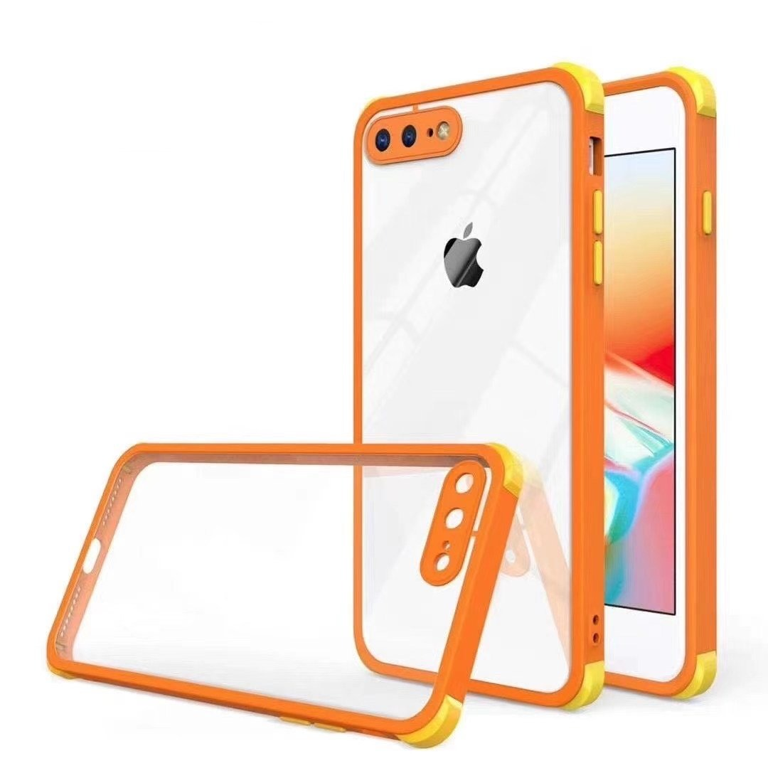 Shockproof with Clear Back for iPhone