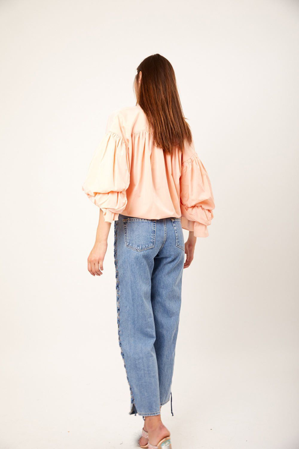 Rayne Flamingo Blouse