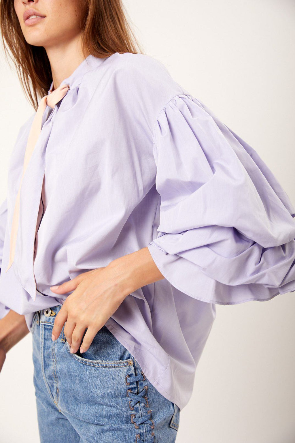 Rayne Chambray Blouse