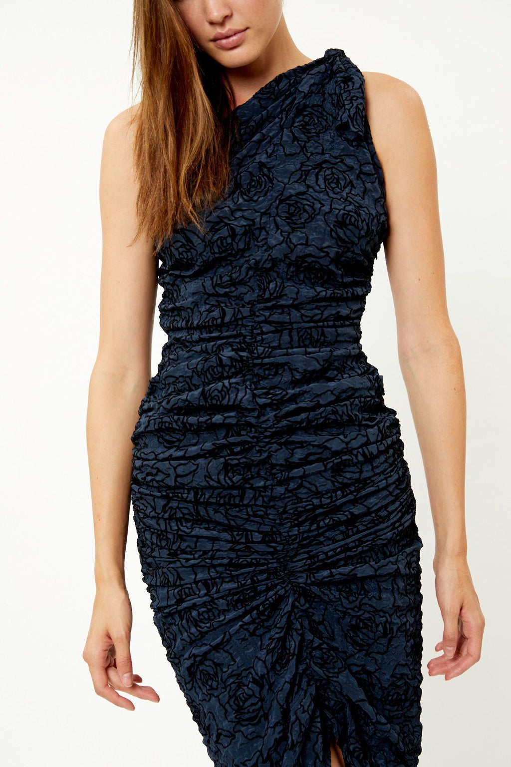 Maia Navy Dress
