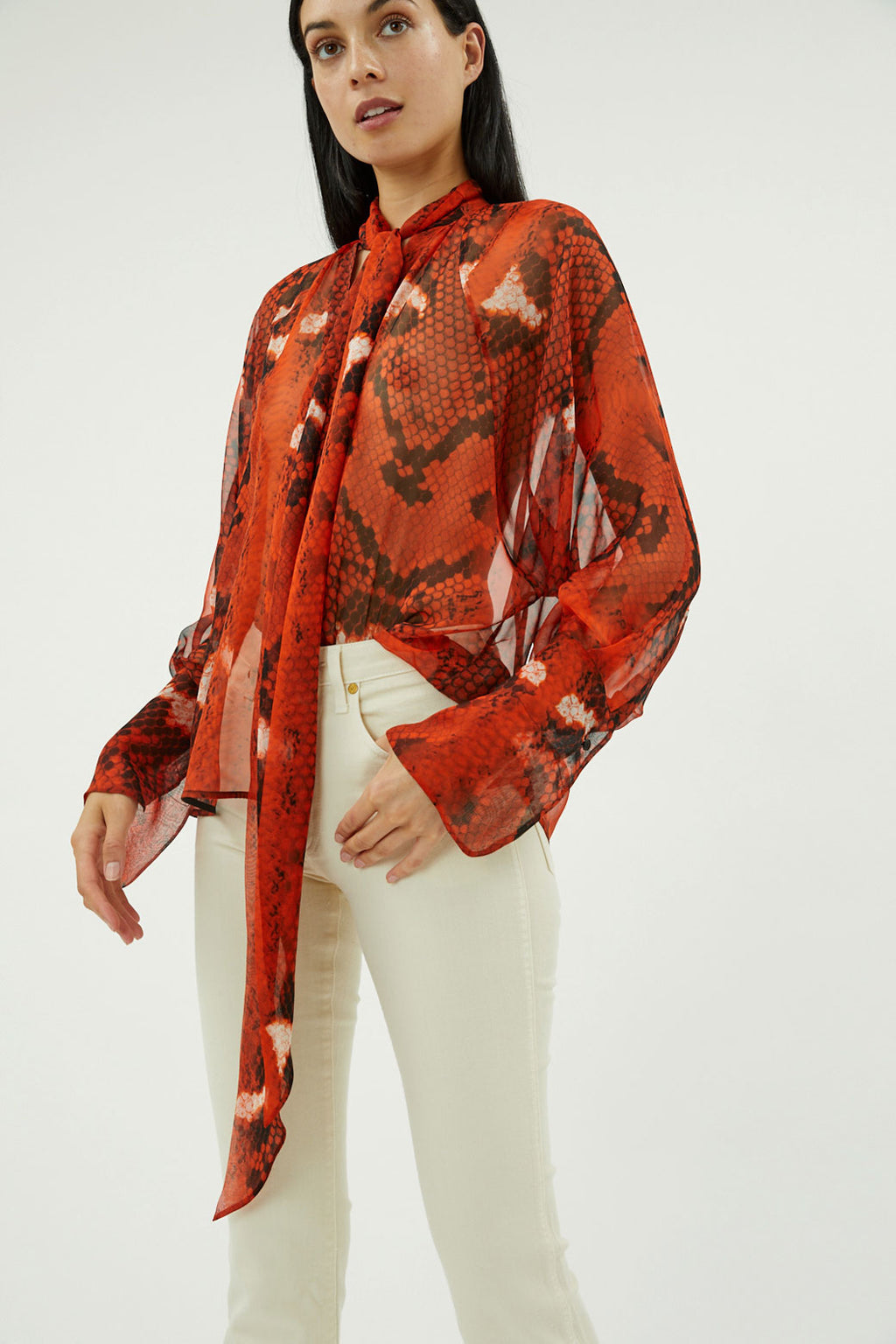 Bea Silk Blouse