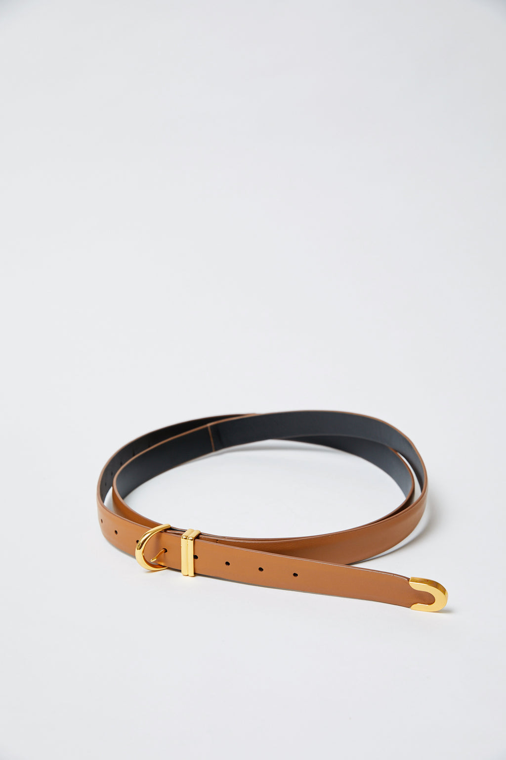 Brooke Double Wrap Caramel Belt