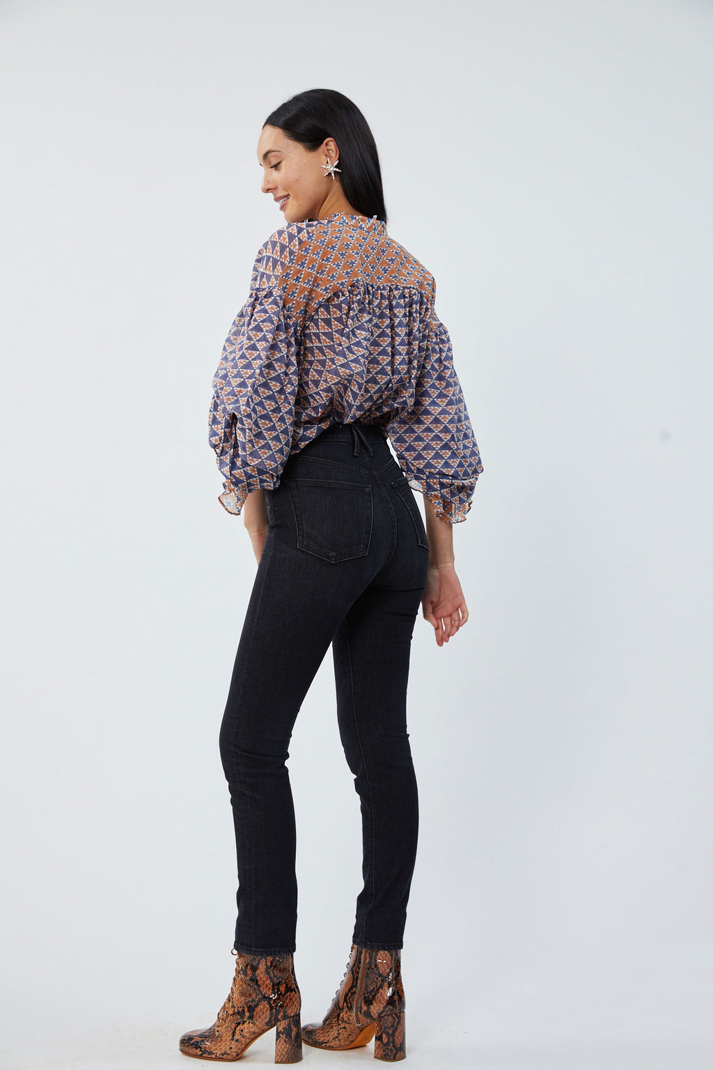 Rayne Optical Burgandy Blouse