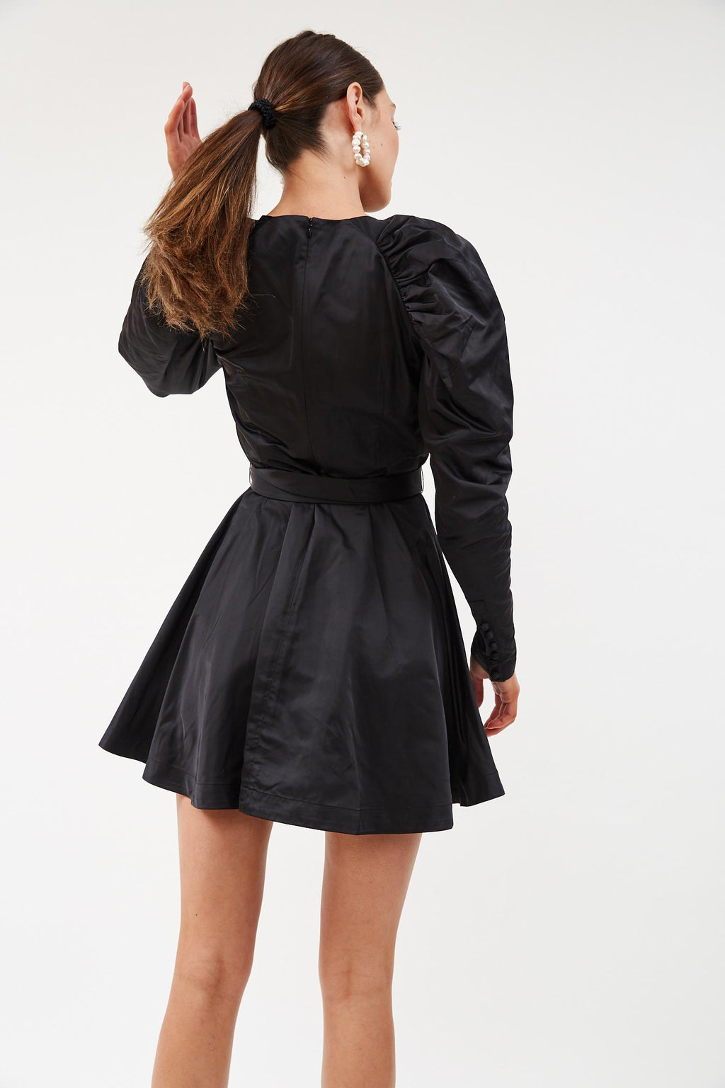 Belted Black Mini