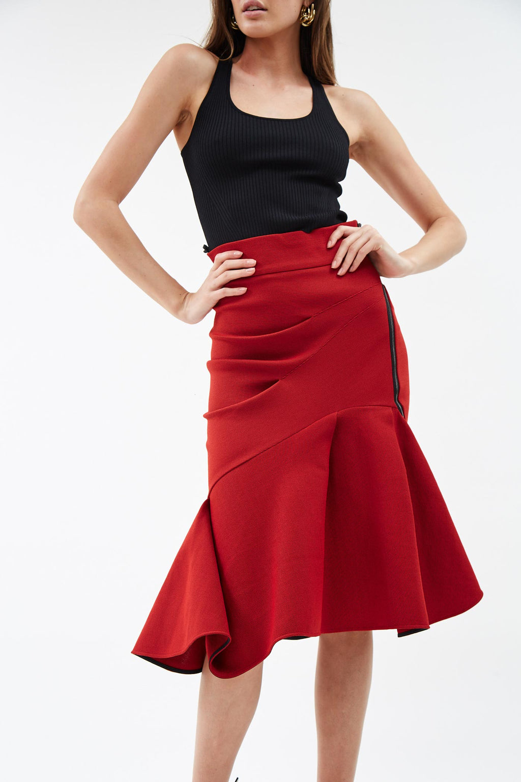 Quill Flame Skirt