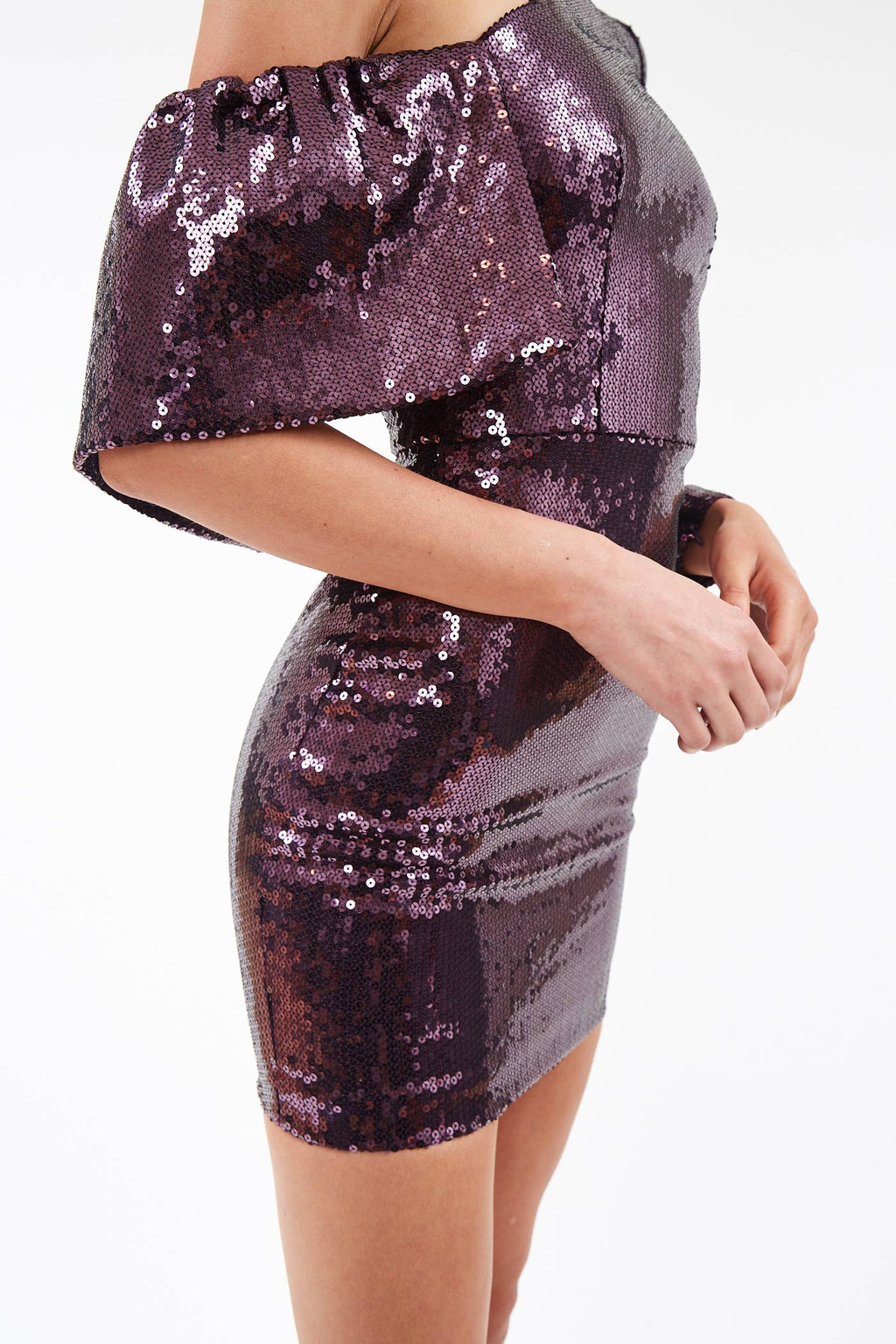 Jett One Shoulder Sequin Dress
