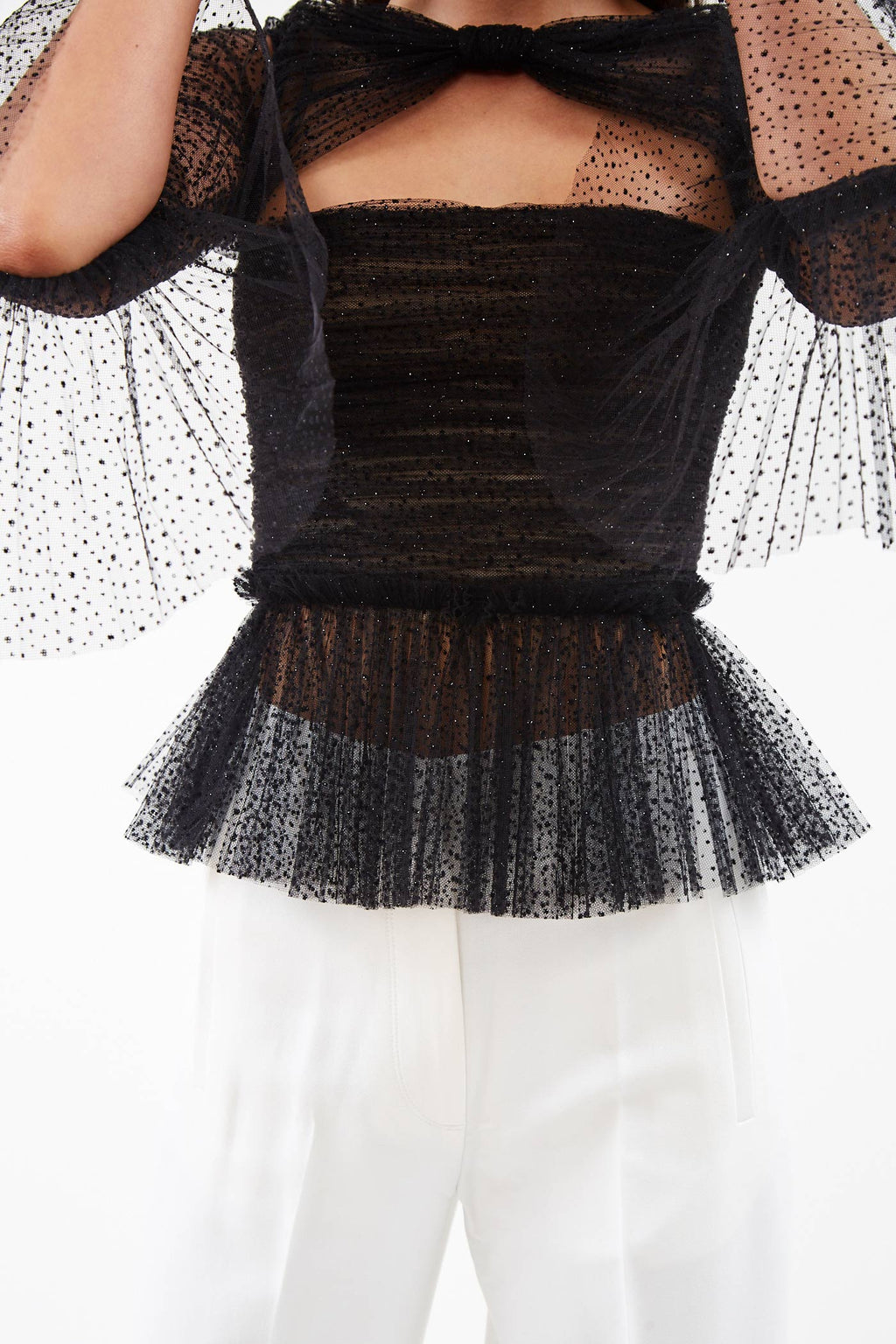 Joey Black Sparkle Top