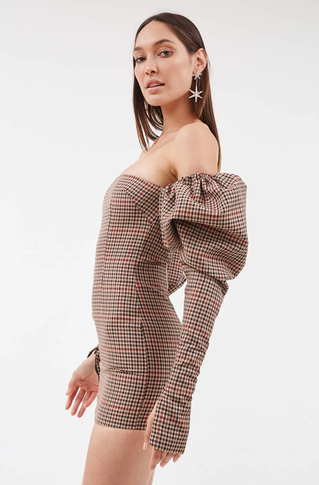 Herringbone Erin Dress