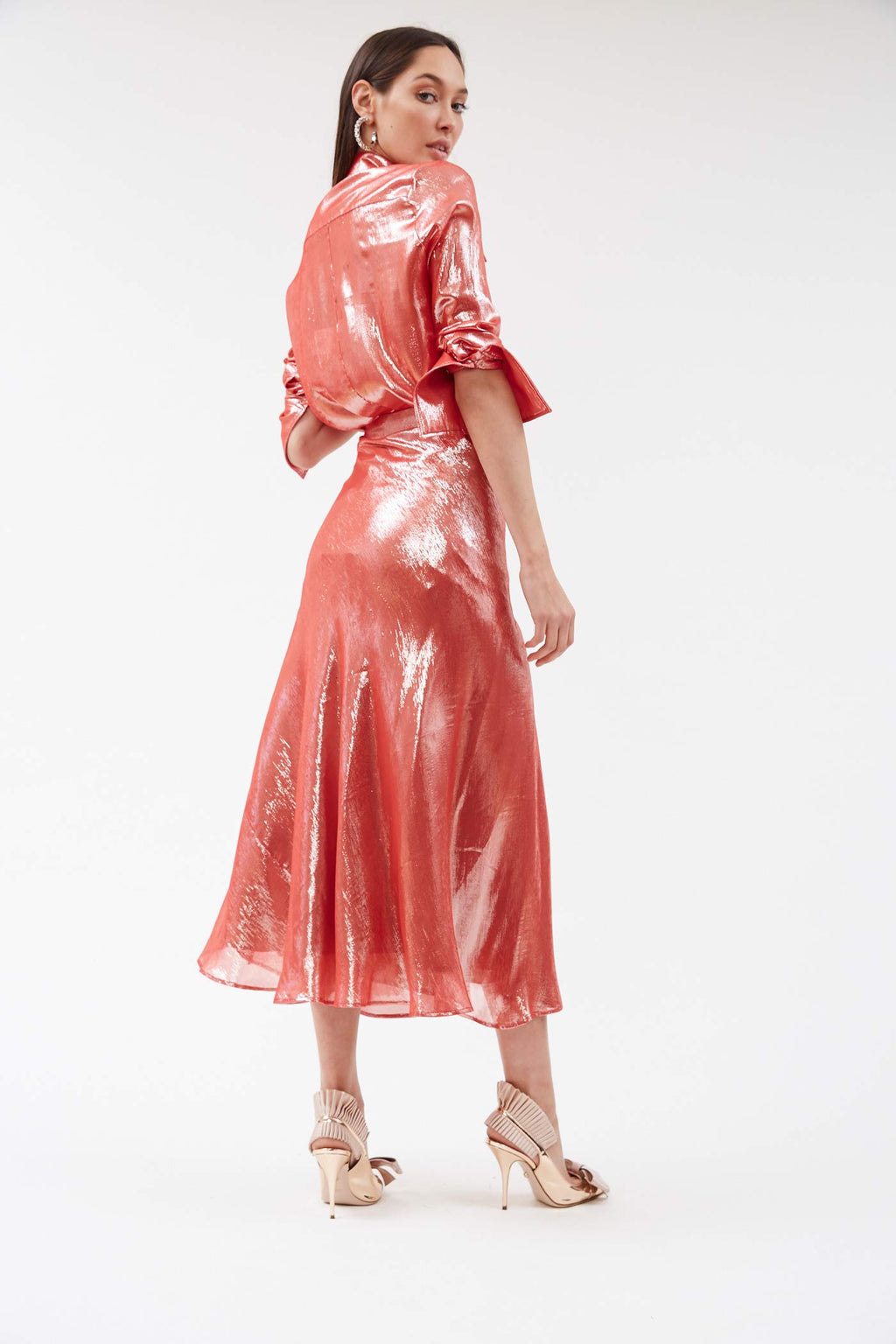 Suite Metallic Skirt