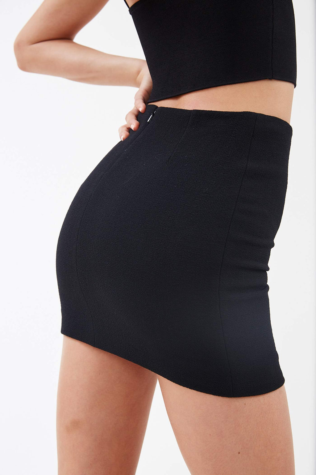Mini Black Skirt