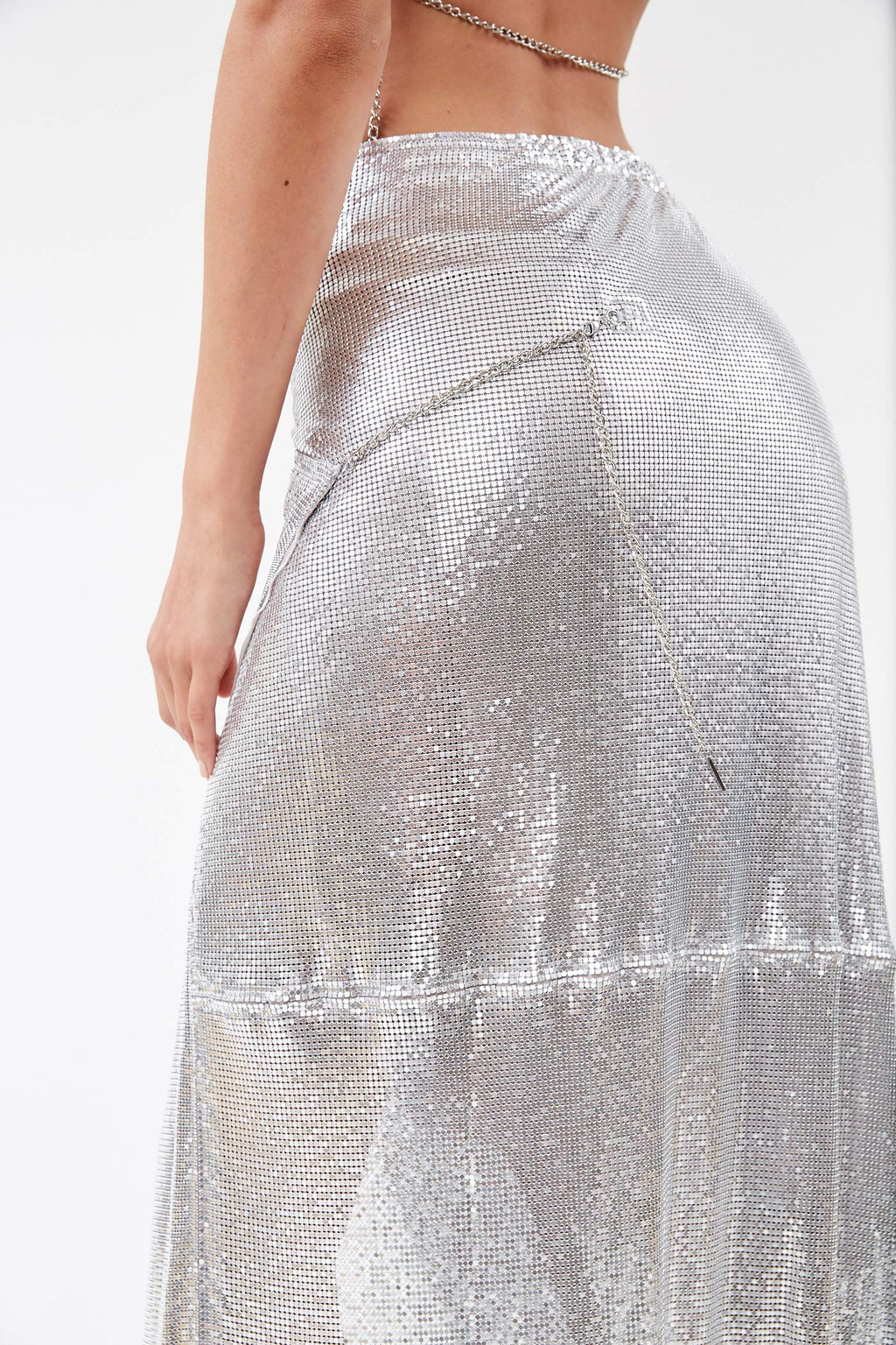 Pamela Chrome Skirt