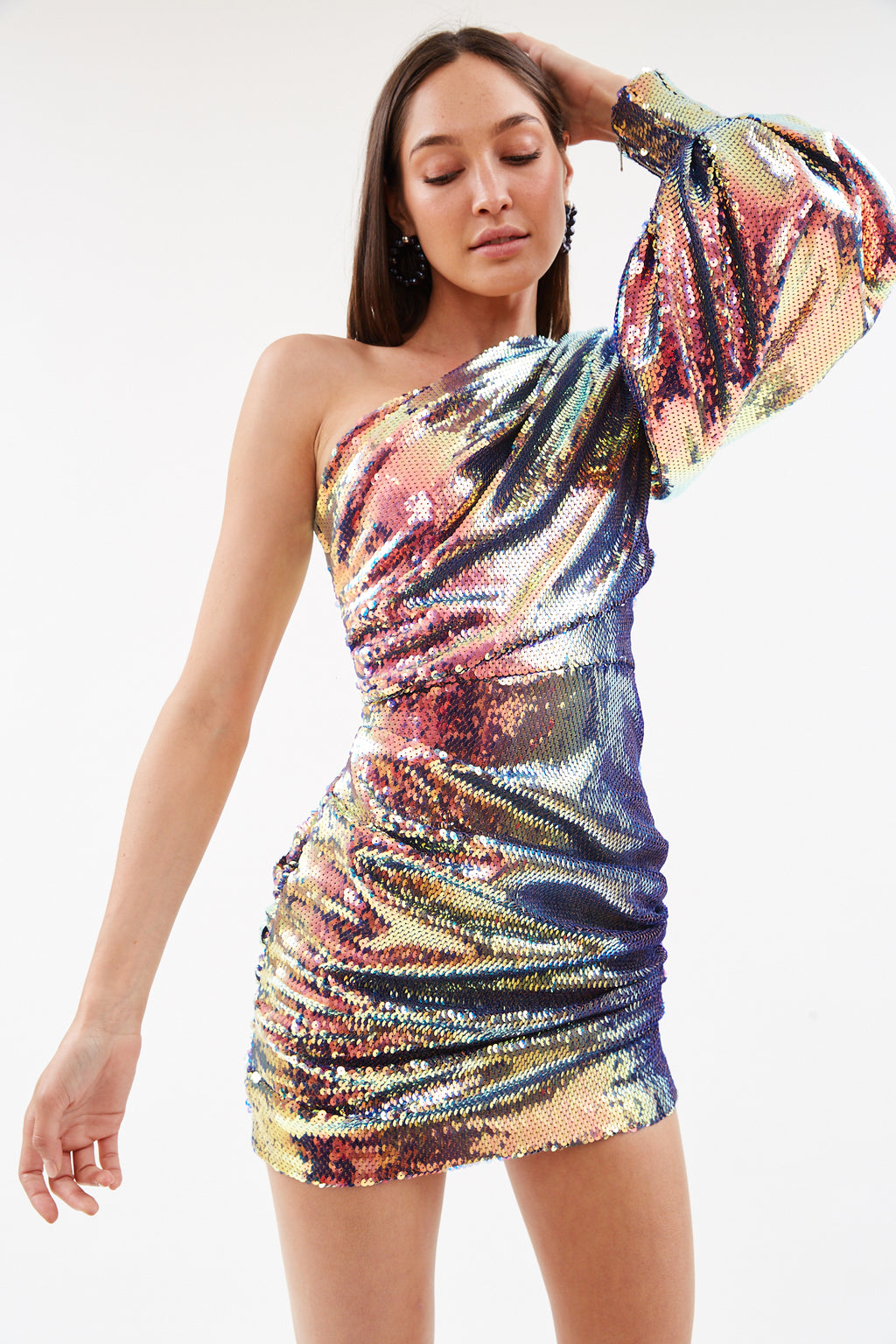 Jackson Sequin Mini Dress
