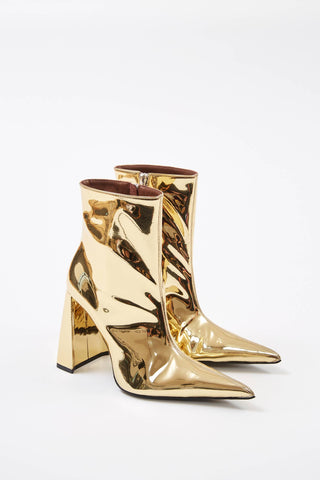 Gold A Boots