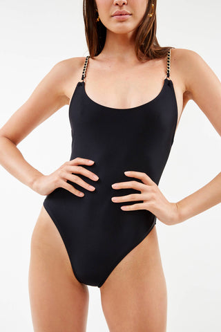 Chain Black One Piece