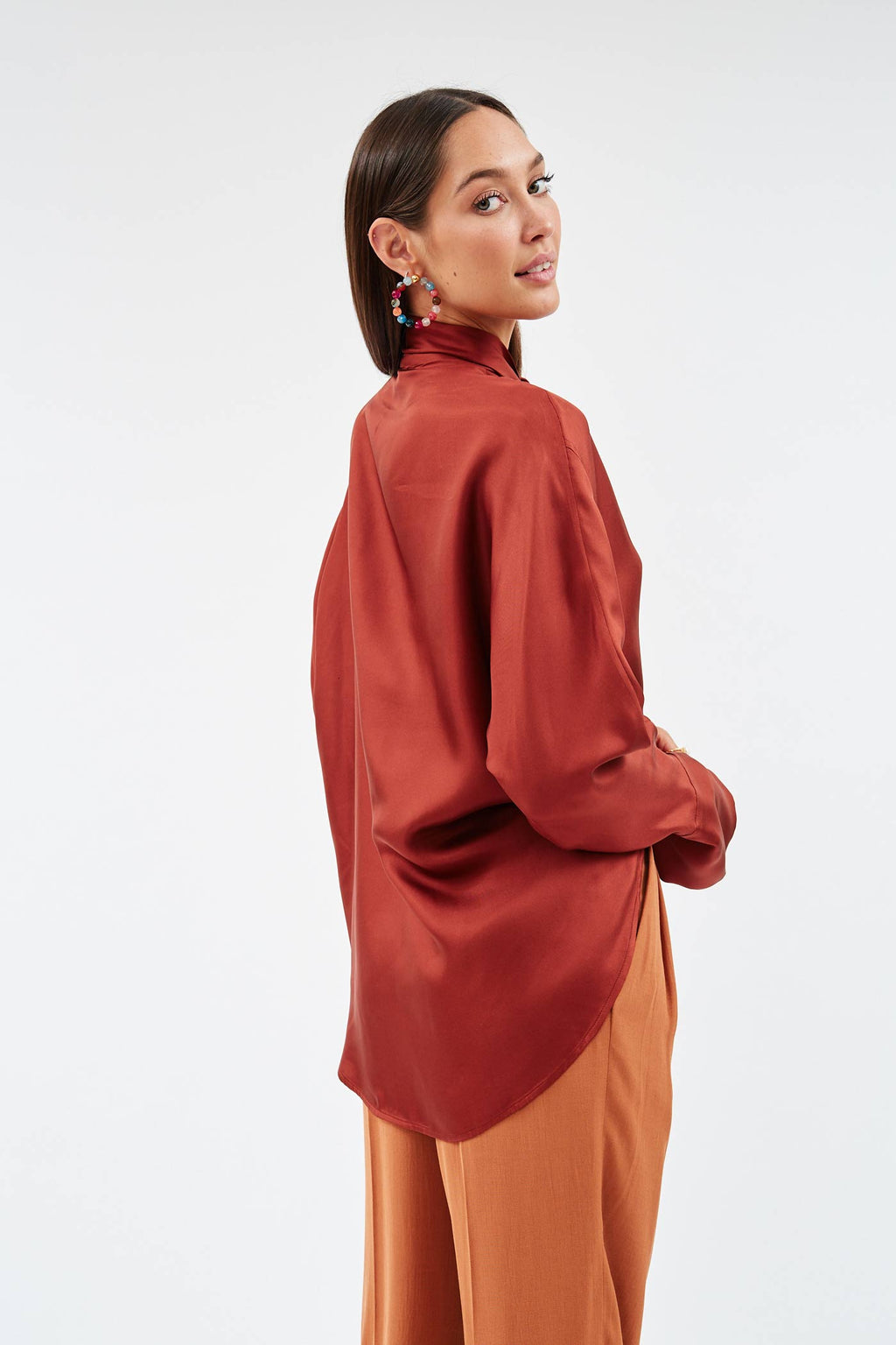Connor Silk Blouse