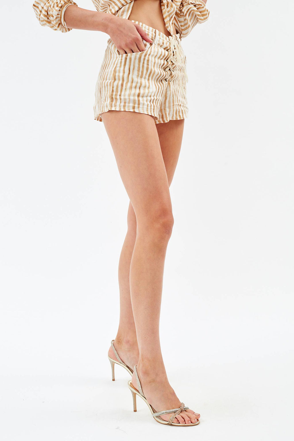 Jane Stripe Shorts
