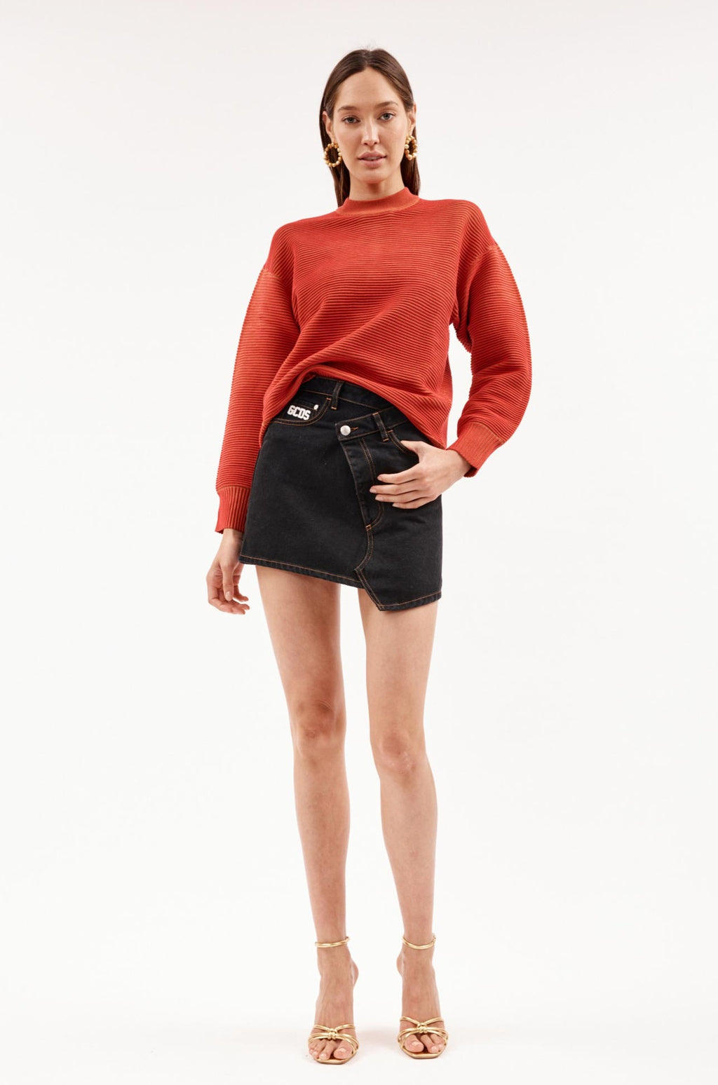 Sonny Crew Neck Red Sweater