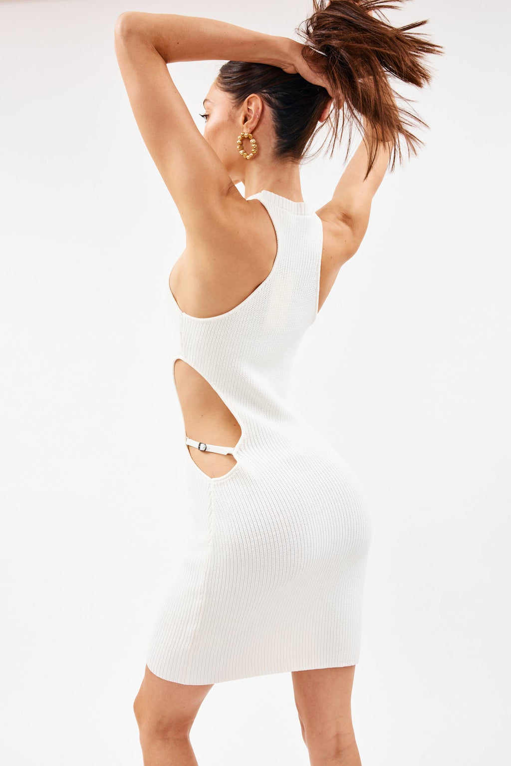 Mila White Dress