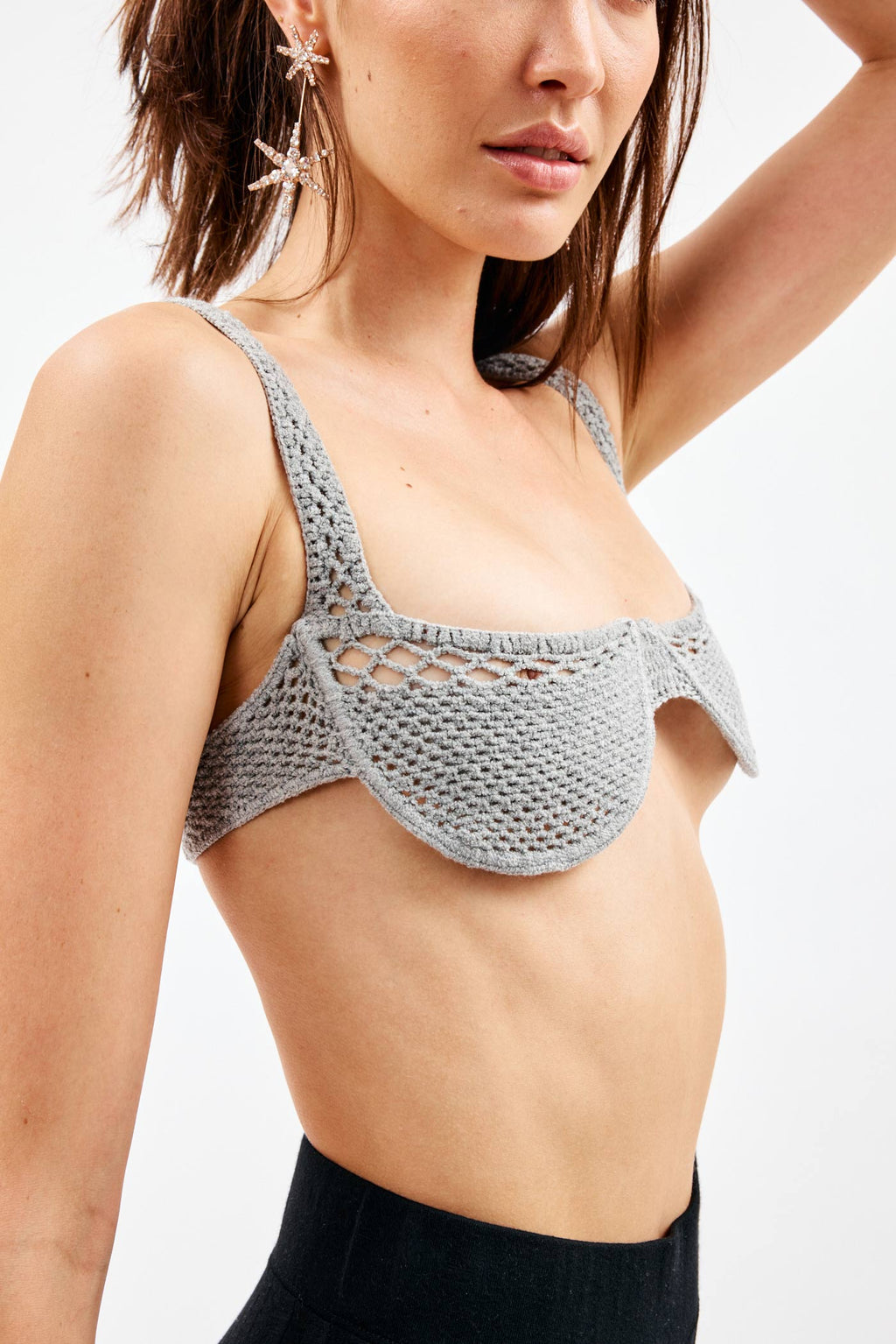 Full Glass Grey Bra