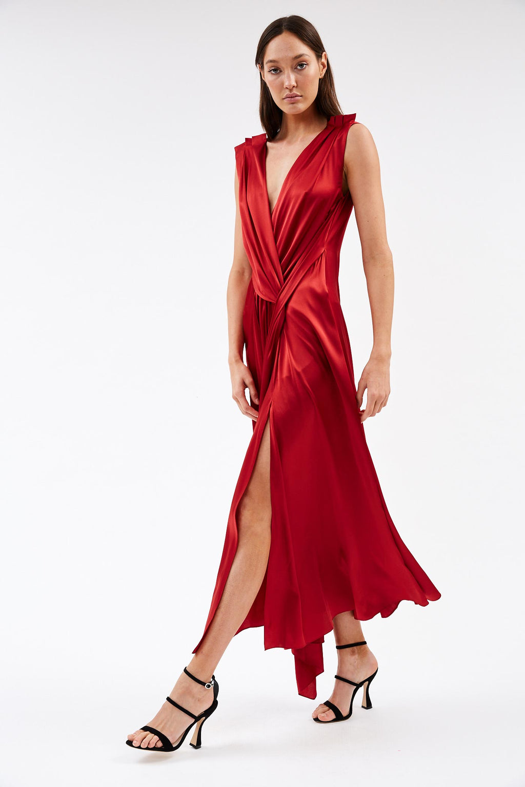 Aria Ruby Dress