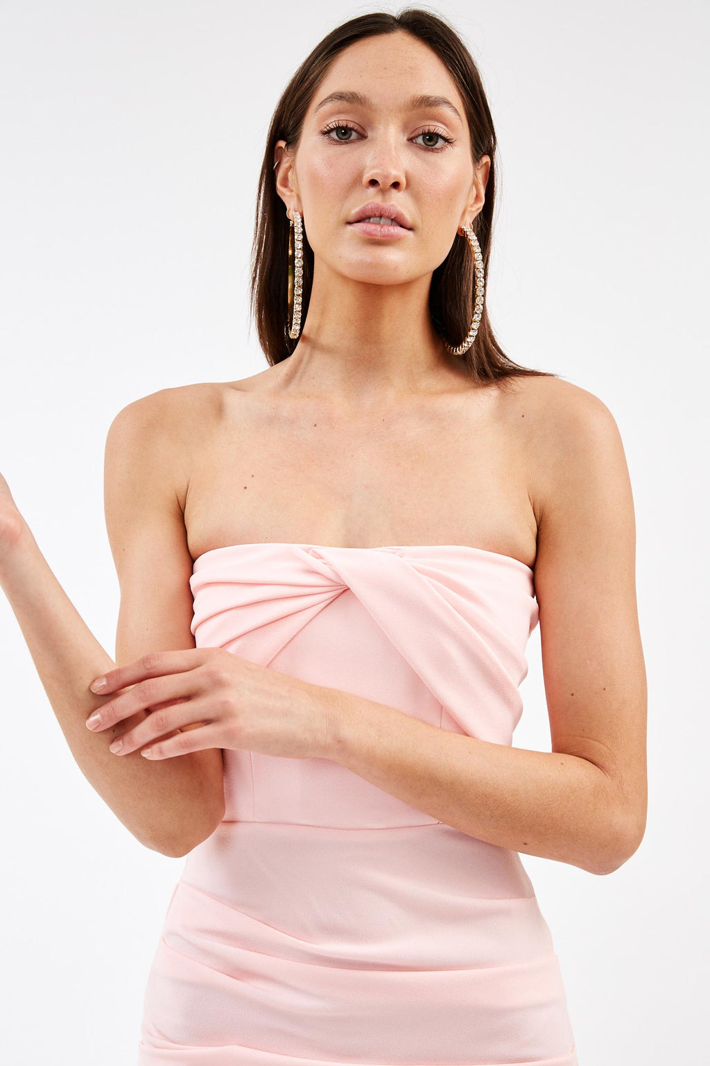 Channing Pink Strapless