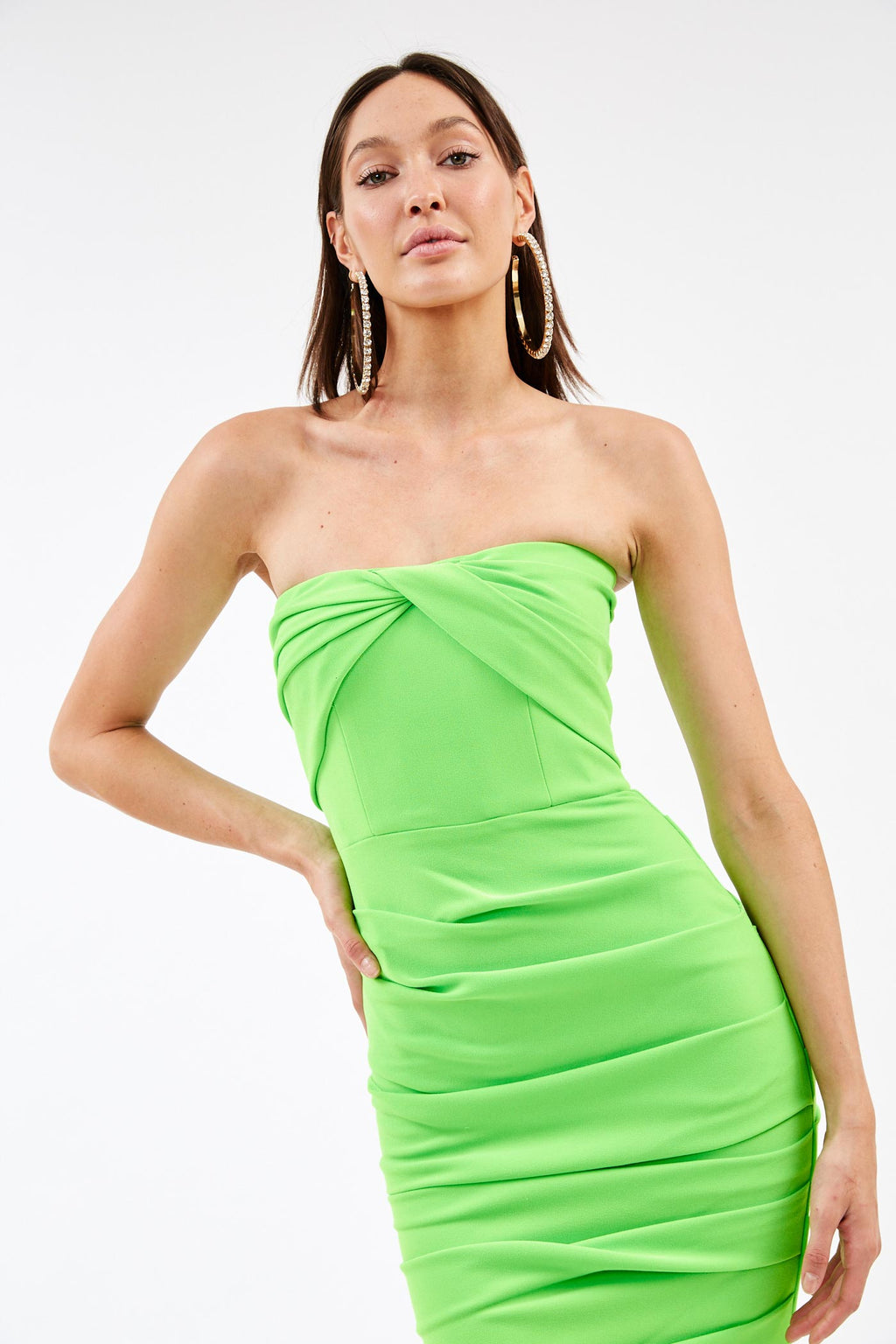 Channing Green Strapless