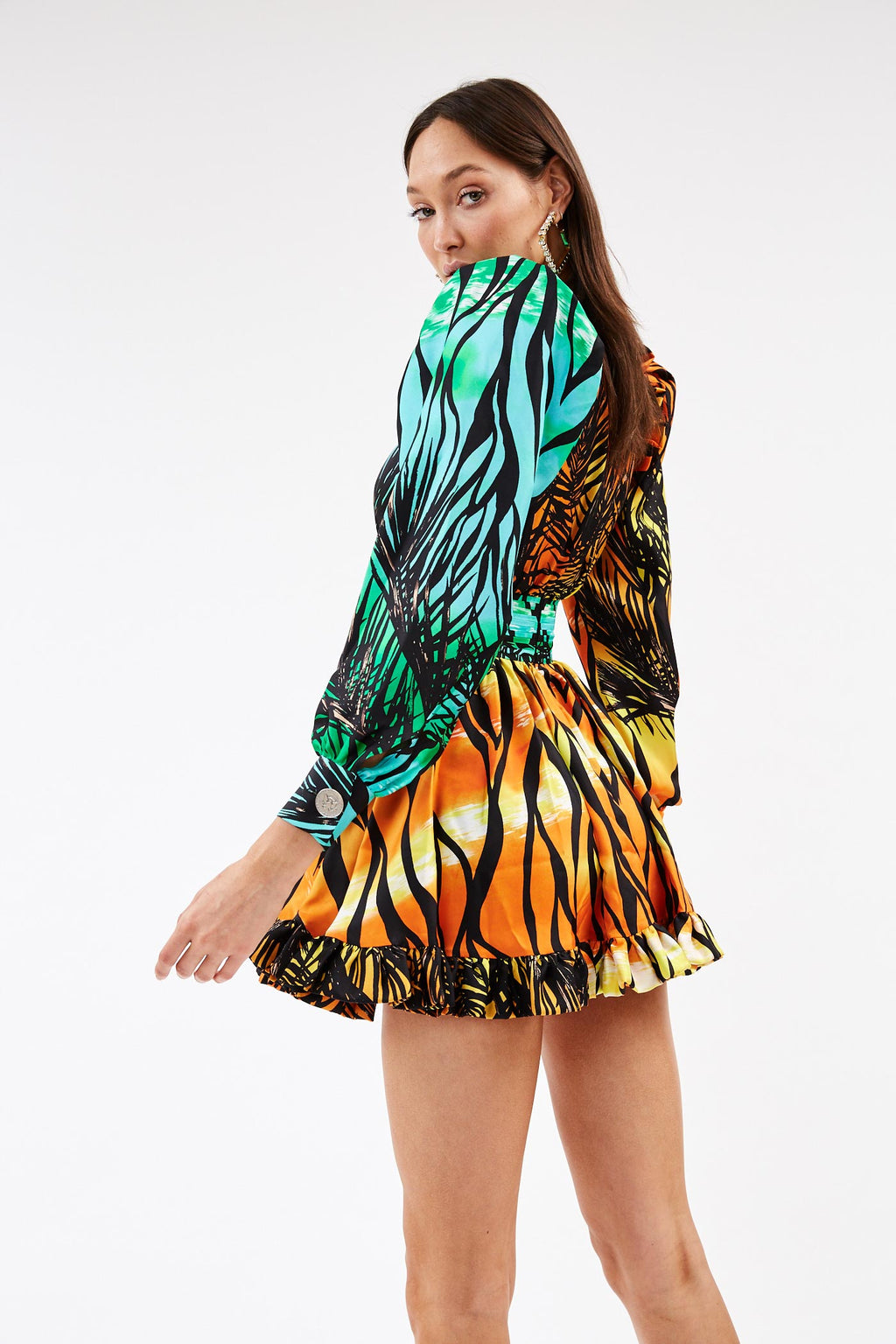Silk Jungle Dress