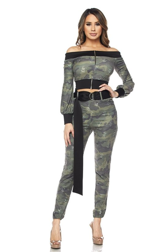 Army Green Camo Set