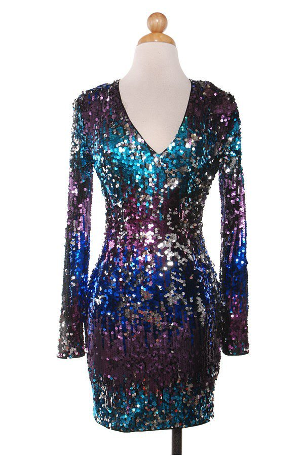 Glitzy Mini Dress
