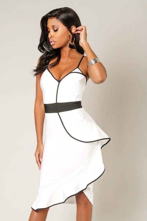 Lined with Sass Bandage Dress