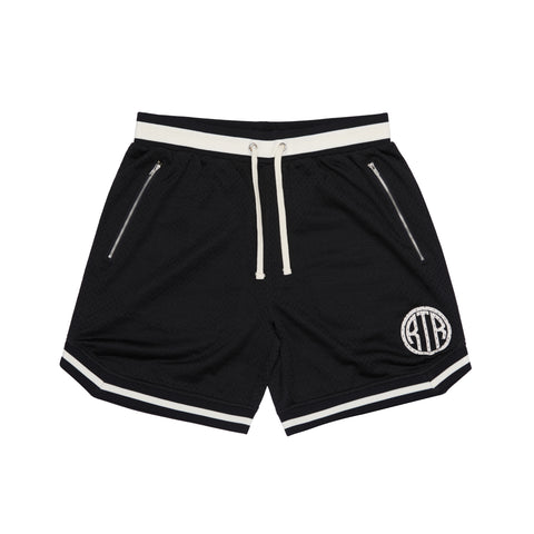 RTR - Game Day Shorts - Black/Cream