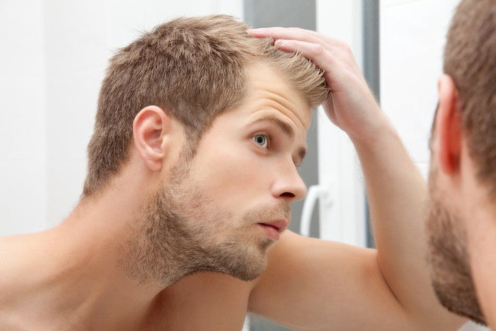 HOW TO CONCEAL HAIR LOSS IN 60 SECONDS