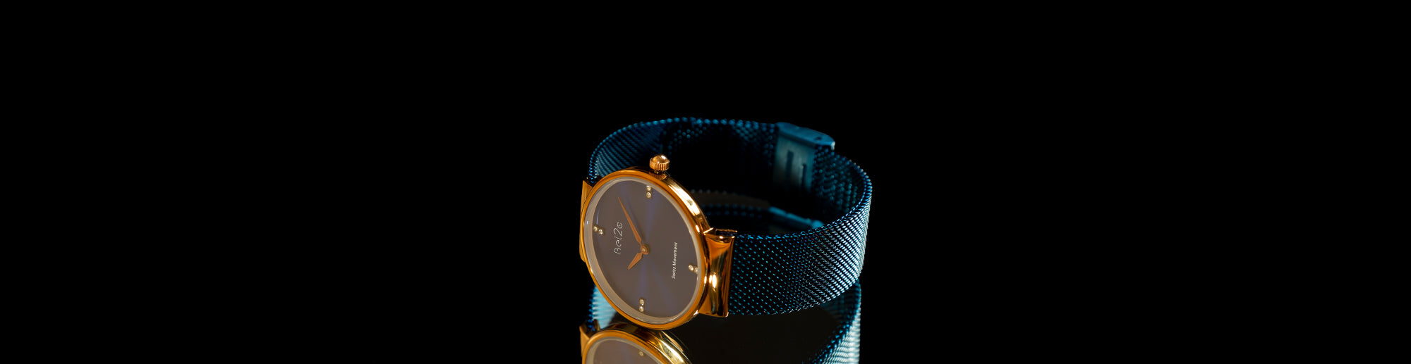 Ladies Watch with Blue Dial