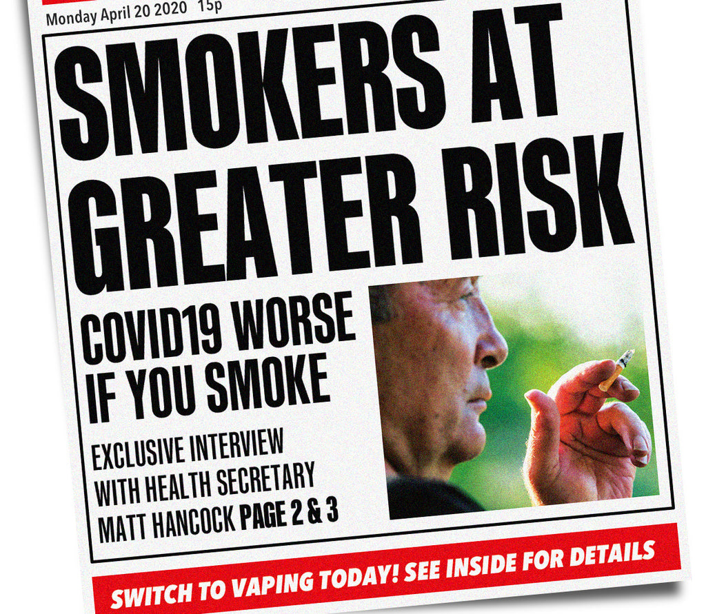 Smokers with COVID-19 are 14 times more likely to suffer from severe symptoms