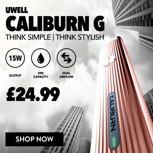 New Uwell Caliburn G