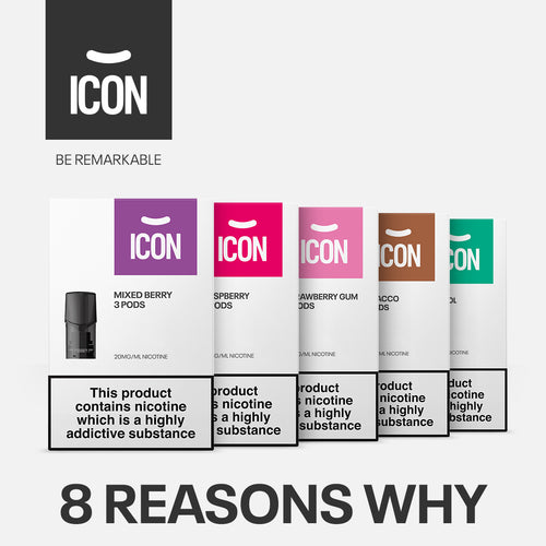 ICON Vape Device and Pods