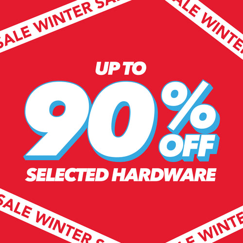 Up to 90% OFF Selected Hardware