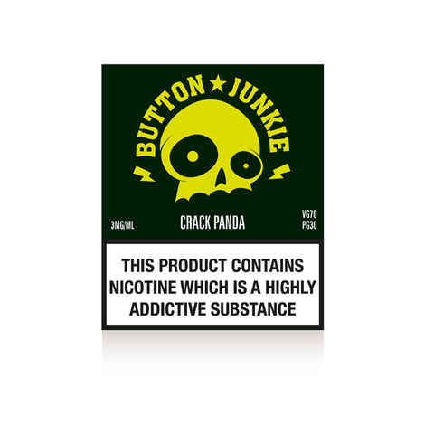 Button Junkie Crack Panda - 3 x 10ml