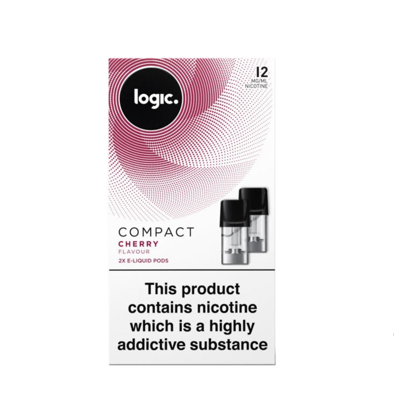 Logic Compact Device Pods (Pack of 2) - Cherry 12mg
