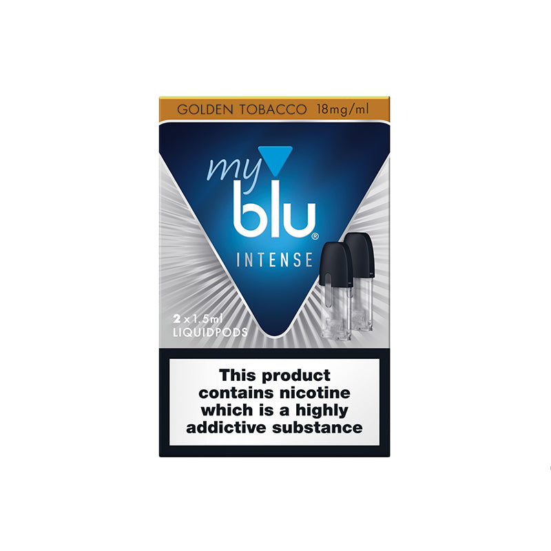 Myblu Liquid Pod Tobacco 18mg Nic Salt Intense (Pack of 2)