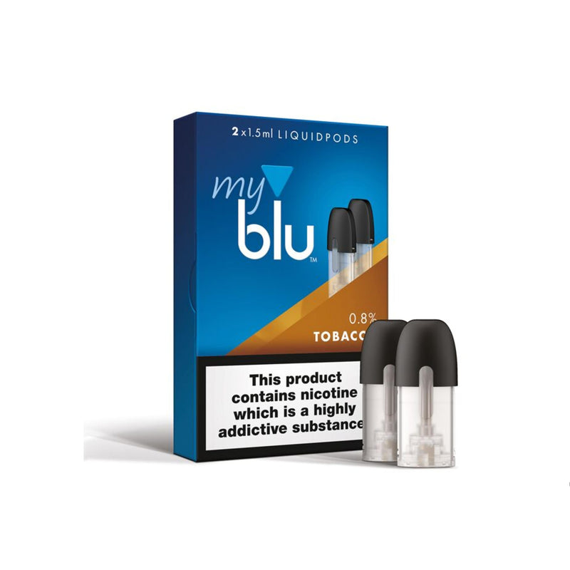 Myblu - Liquid Pod - Tobacco (Pack of 2)