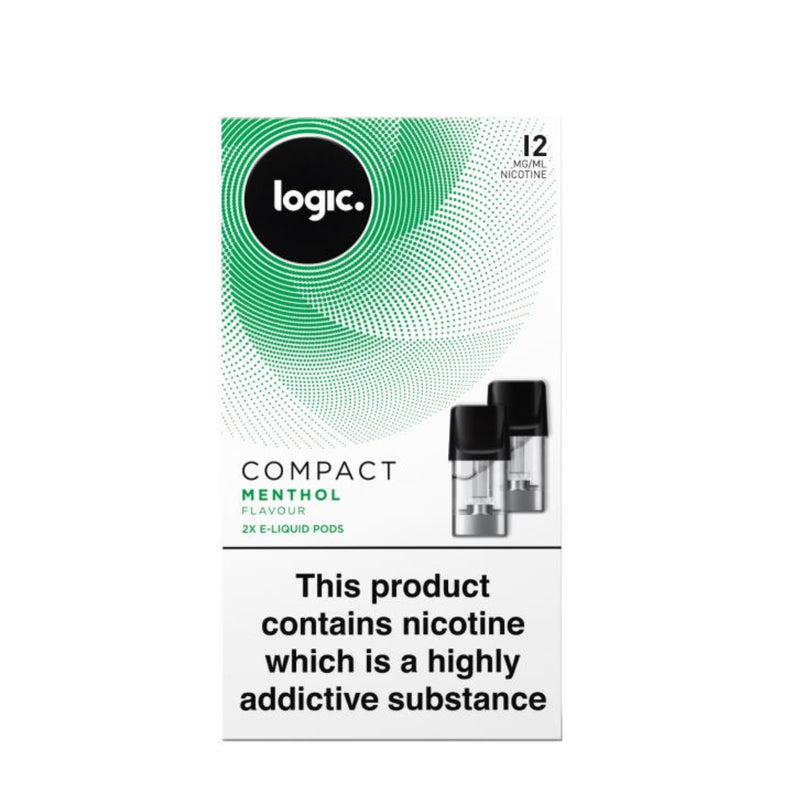 Logic Compact Device Pods (Pack of 2) - Menthol 12mg