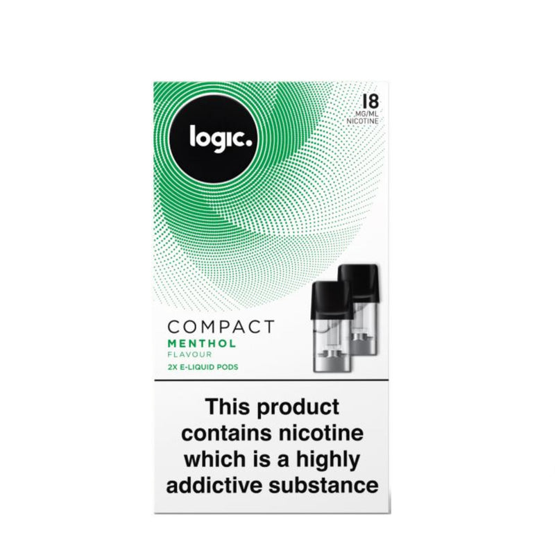 Logic Compact Device Pods (Pack of 2) - Menthol 18mg