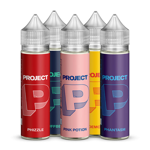 Project P Short Fill E-Liquid Bundle - 5 x 50ml