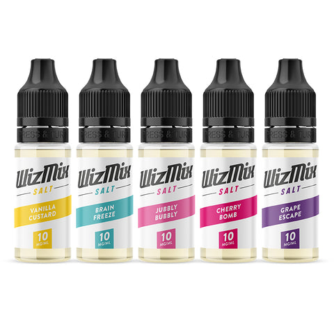 WizMix Nic Salt E-Liquid Bundle