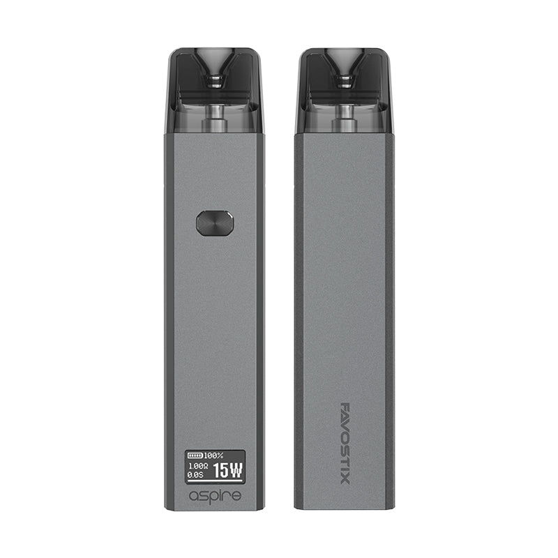 Aspire Favostix Pod Vape Kit - Front and Back