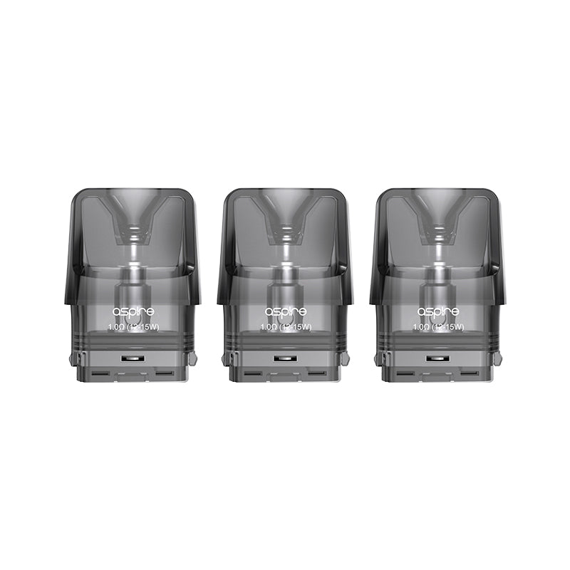 Aspire Favostix Replacement 2ml Pods (Pack of 3) - 1.0 ohms
